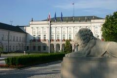 Palacio presidencial Imagen de archivo libre de regalías