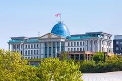 Palacio presidencial de Georgia en Tbilisi foto de archivo libre de regalías