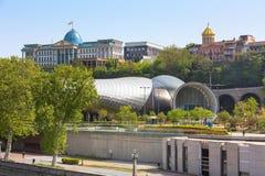 Palacio presidencial de Georgia en Tbilisi fotografía de archivo