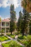 Palacio presidencial durante renovaciones, EL Fotos de archivo libres de regalías
