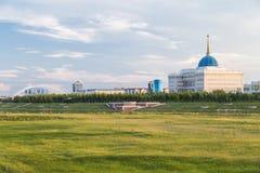 Palacio presidencial en Astana imagen de archivo libre de regalías