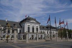 Palacio presidencial en Bratislava Fotos de archivo