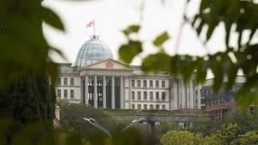 Palacio presidencial en Tbilisi almacen de video