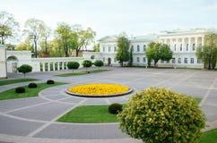 Palacio presidencial en Vilna Imagen de archivo libre de regalías