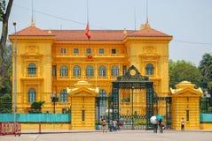 Palacio presidencial - Hanoi Foto de archivo libre de regalías