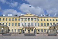 Palacio presidencial Helsinki imágenes de archivo libres de regalías