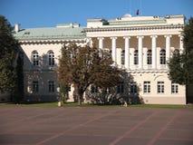Palacio presidencial (Vilna, Lituania) Imagenes de archivo