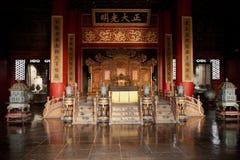 Palacio prohibido de la ciudad de la pureza celeste Imagen de archivo libre de regalías