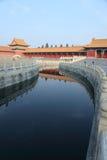 Palacio prohibido Pekín de la ciudad Imágenes de archivo libres de regalías