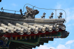Palacio prohibido Pekín de la ciudad Fotografía de archivo