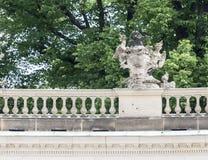 Palacio prusiano de Sanssouci Imagen de archivo libre de regalías
