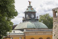 Palacio prusiano de Sanssouci Fotos de archivo libres de regalías