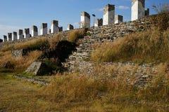 Palacio Quemado, archeological περιοχή της Τούλα, Μεξικό Στοκ φωτογραφία με δικαίωμα ελεύθερης χρήσης