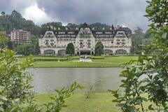 Palacio Quitandinha, Petropolis, Rio de Janeiro, Brasil. Royalty Free Stock Photos