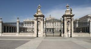 Palacio réel Image libre de droits