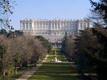 Palacio real Fotos de archivo libres de regalías