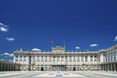 Palacio Real Stock Photography