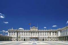 Palacio real Fotografia Stock