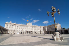 Palacio real Stock Image