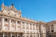 Palacio real lizenzfreie stockfotos