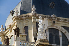 Palacio real imagem de stock