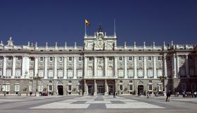 Palacio real Royalty Free Stock Image