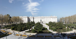 Palacio real Royalty Free Stock Photo
