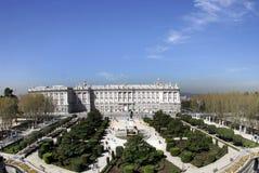 palacio real Obrazy Stock