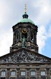 Palacio real, Amsterdam Imágenes de archivo libres de regalías