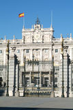 Palacio Real on Armeria Square at Madrid Royalty Free Stock Images