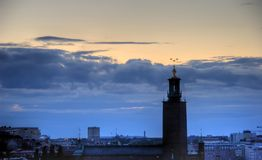 Palacio real de Estocolmo Fotos de archivo