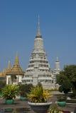 Palacio real de la pagoda de Phnom Penh Foto de archivo
