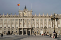 Palacio Real de Madrid Stock Photo