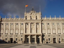Palacio Real De Madryt Obraz Royalty Free