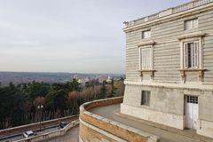 Palacio real de Madryt (Royal Palace) Obraz Stock
