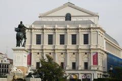 Palacio real de Madryt (Royal Palace) Fotografia Stock