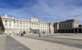 Palacio real de Madryt Royal Palace Zdjęcie Royalty Free