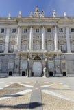 Palacio real de Madryt Royal Palace Obrazy Stock
