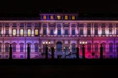 Palacio real de Monza Fotografía de archivo libre de regalías