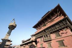 Palacio real de Patan Fotografía de archivo