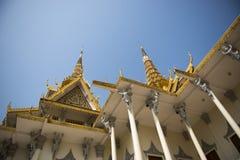 Palacio real de Phnom Penh Imagen de archivo