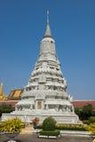 Palacio real de Phnom Penh Imagenes de archivo