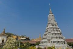 Palacio real de Phnom Penh Fotos de archivo libres de regalías
