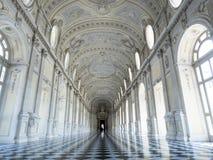Palacio real de Reggia di venaria en Turín Italia Fotos de archivo