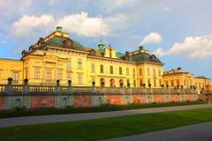 Palacio real de Suecia Imágenes de archivo libres de regalías