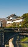 Palacio real de Tokio imagen de archivo