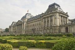 Palacio real en Bruselas Foto de archivo libre de regalías