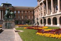 Palacio real en Budapest fotos de archivo libres de regalías