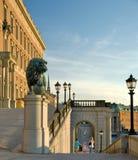 Palacio real en Estocolmo Imagen de archivo