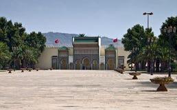 Palacio real en Fes Imágenes de archivo libres de regalías